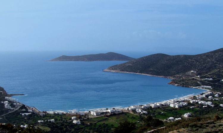 The rates of Sifnos studios Ostria
